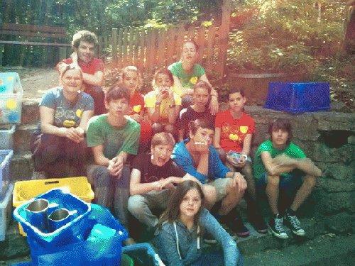 Die Monstermafia im KidsCamp 2013